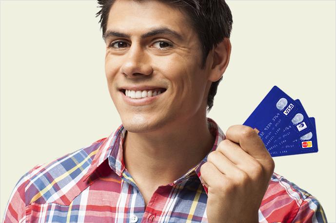 Parcelamento Visa, Mastercard e Diners